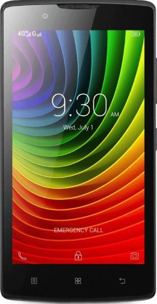Lenovo A1000 Dual Sim Smartphone 8GB Black