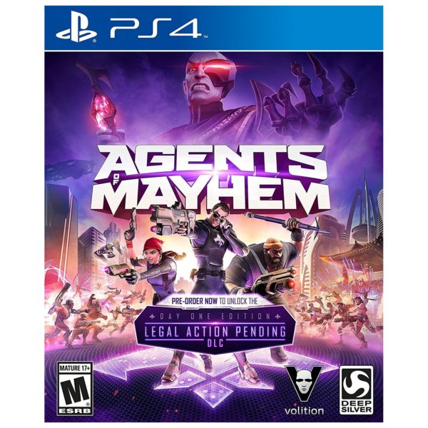 PS4 Agents of Mayhem Retail Edition Pre Order Game