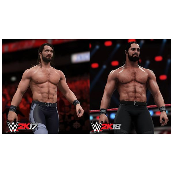Xbox One WWE 2K18 Game