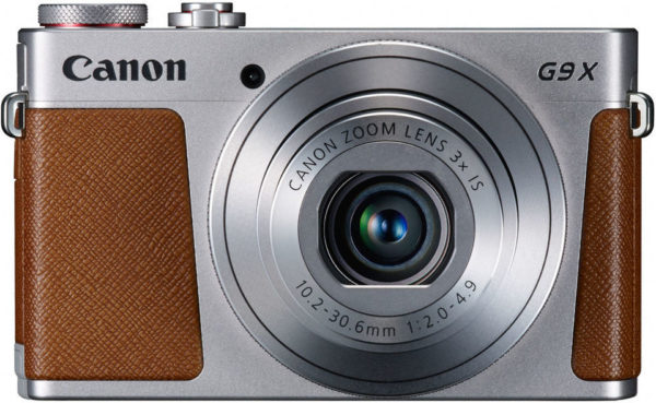 Canon PowerShot G9 X Digital Camera Silver