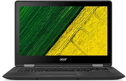 Acer Spin 5 SP513 Convertible Touch Laptop - Core i5 2.5GHz 8GB 256GB Shared Win10 13.3inch FHD Black