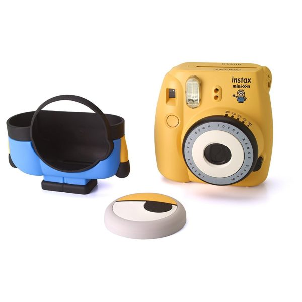 Fujifilm INSTAX MINI8 Minion Instant Film Camera Yellow + 10 Sheets