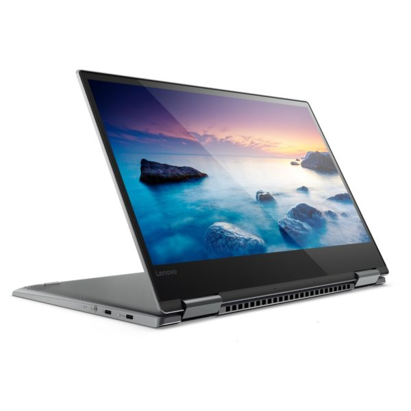 Lenovo Yoga 720 Convertible Touch Laptop - Core i7 2.7GHz 16GB 512GB Shared Win10 13.3inch FHD Grey