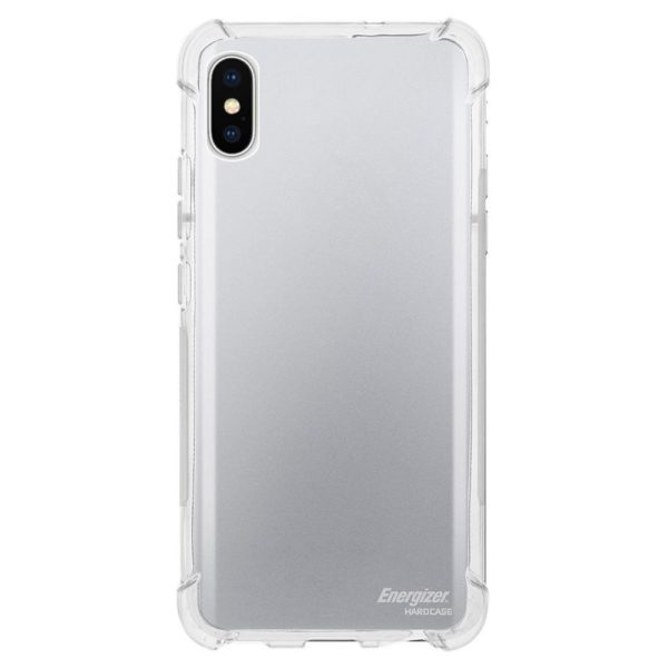 brand new ac1e8 1fd37 Energizer Shockproof Clear Case For iPhone X