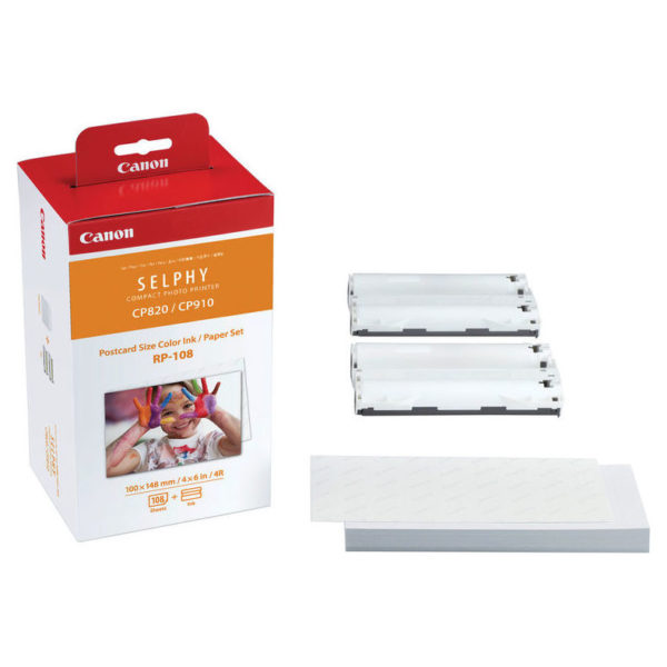Canon RP108I Photo Paper for Canon printer CP1000, CP910, CP820,CP1300