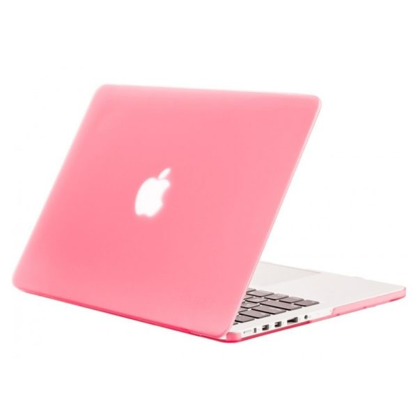 premium selection 77eaf b45f7 Eklasse Hard Case Cover Clear Pink For Macbook Pro 13inch With/Without  Touch Bar EKMCPRO13PKFT