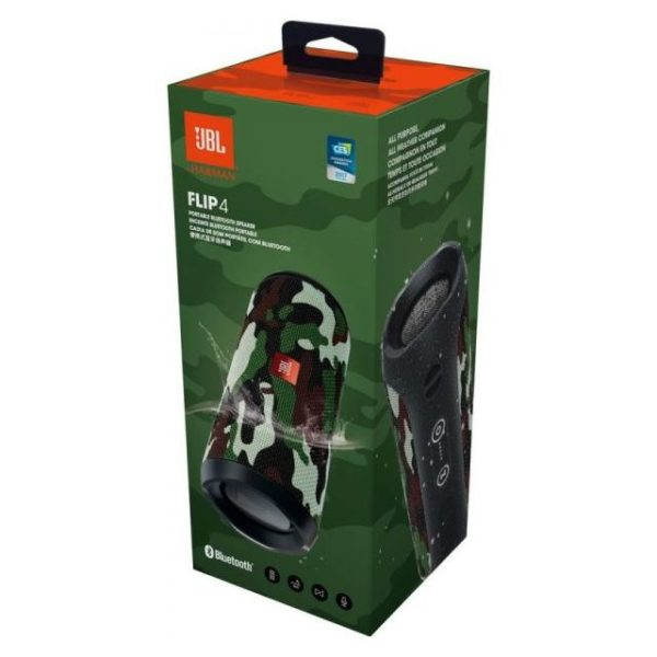 JBL FLIP 4 Waterproof Portable Bluetooth Speaker Squad