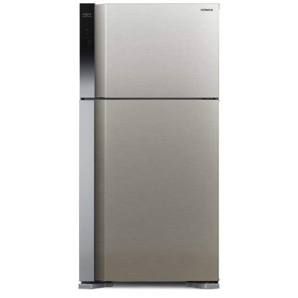 Hitachi Top Mount Refrigerator 489 Litres RV650PK7KBSL