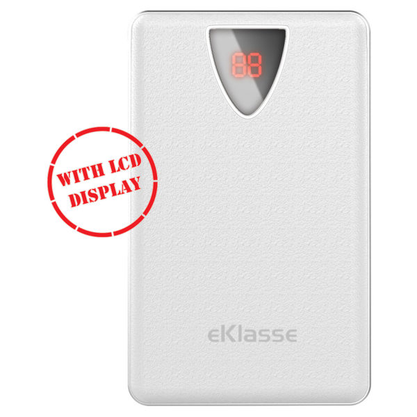 Eklasse Power Bank 8000mAh White - EKPB0805OI