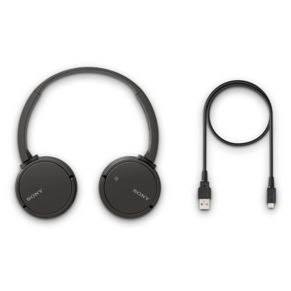 Sony WH-CH500B Wireless Headphones Black