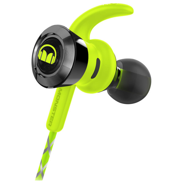 971affd82c1 Monster 13708600 iSport Victory In-Ear Bluetooth Sport Headphones Green