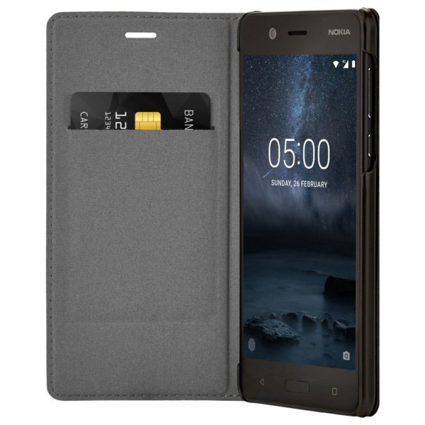 pretty nice d1c80 7e873 Nokia Slim Flip Case Black For Nokia 5 – CP302 price in Bahrain, Buy ...