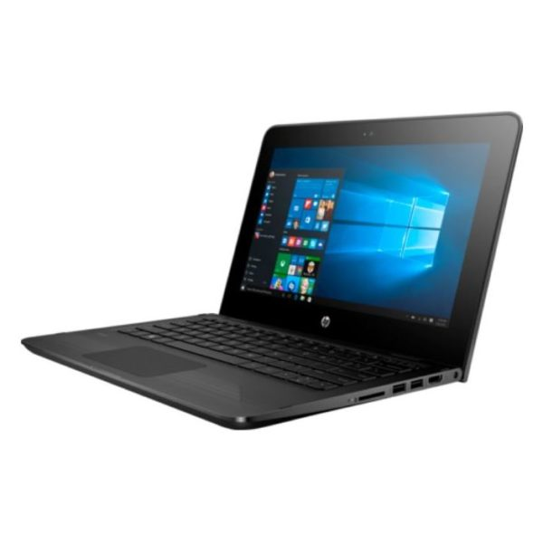 HP Stream x360 11-AG002NE Convertible Touch Laptop - Celeron 1.6GHz 4GB 32GB Shared Win10S 11.6inch HD Jack black