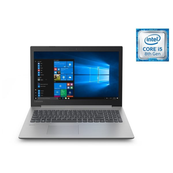 Lenovo Ideapad 330 Laptop - Core i5 1.6GHz 8GB 2TB 4GB Win10 15.6inch HD Platinum Grey