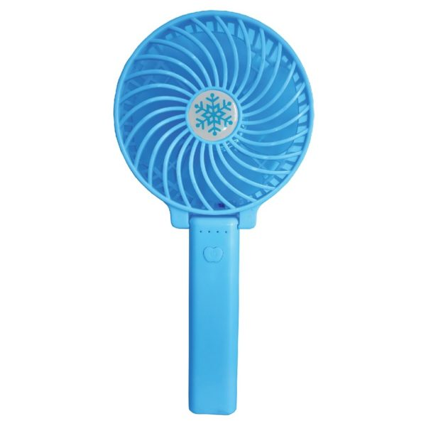 Eklasse EKPF01XM 3 Speed Rechargeable Portable Fan Blue