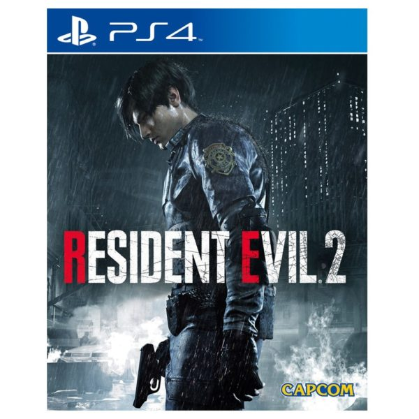 PS4 Resident Evil 2 Remake Lenticular Edition Game