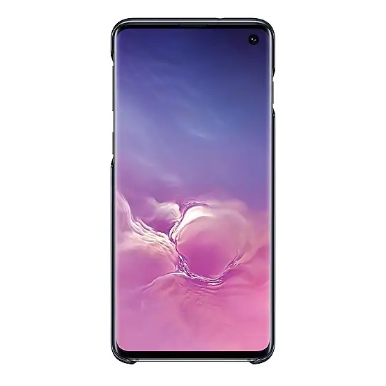 Samsung LED Back Case Black For Galaxy S10 Plus