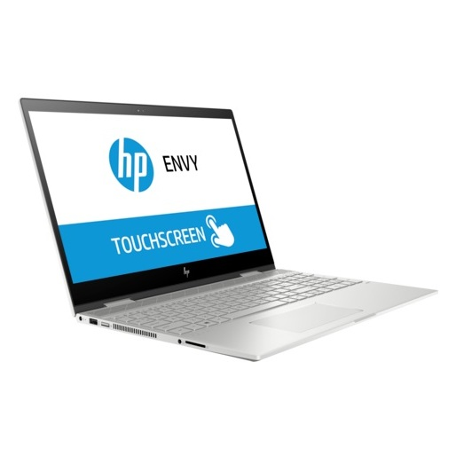 HP ENVY x360 15-CN1001NE Convertible Touch Laptop - Core i5 1.6GHz 12GB 256GB 4GB Win10 15.6inch FHD Natural Silver