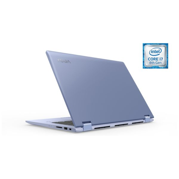 Lenovo Yoga 530 Convertible Touch Laptop - Core i7 1.8GHz 16GB 512GB 2GB Win10 14inch FHD Liquid Blue