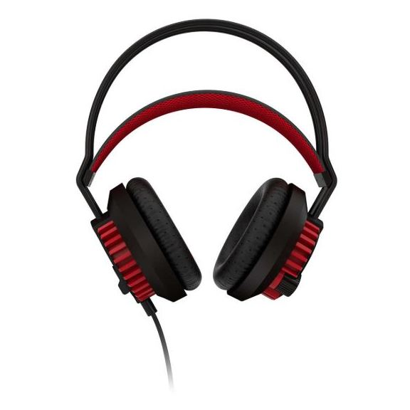 Philips SHG800097 PC Gaming Headset Black/Red