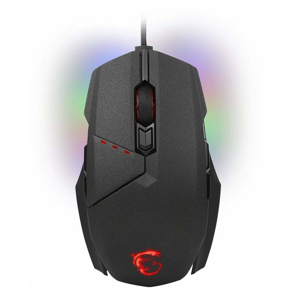 MSI GM60 S120401470D22 Clutch Gaming Mouse