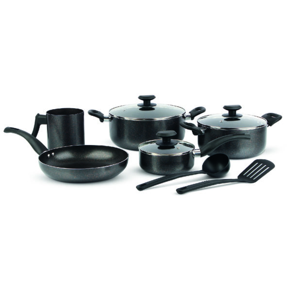 Homeway 10PCS Granite Cookware Set HW2612