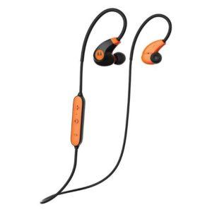 566564416c0 Motorola VerveLoop2+ Wireless Waterproof Sport In-Ear Stereo Earbuds  Black/Orange