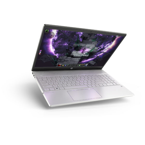 HP Pavilion 15-CS1005NE Laptop - Core i7 1.8GHz 16GB 512GB 4GB Win10 15.6inch FHD Mineral Silver