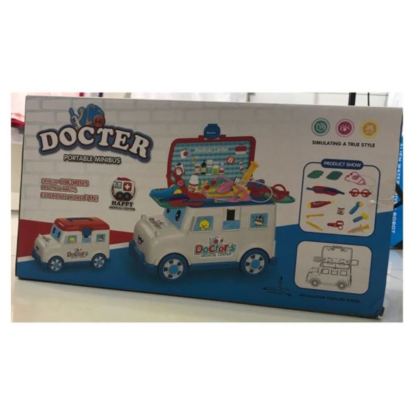 Doctor Portable Mini Bus Toy