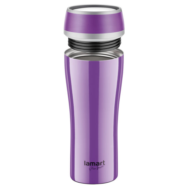Lamart Thermo Vacuum Flask 400ml Purple