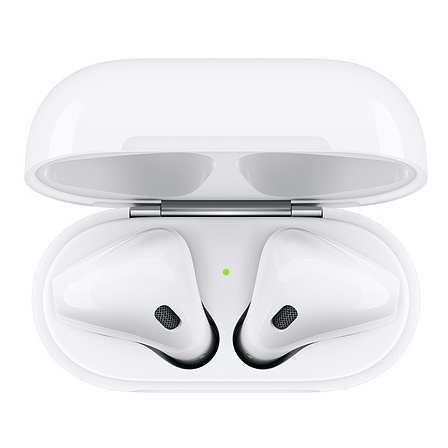 Apple Aipods With Charging Case - White