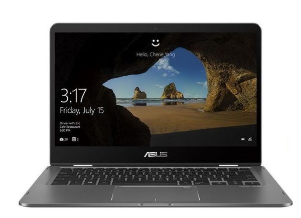 Asus ZenBook Flip UX461FN-E1022TS Laptop - Core i7 1.8GHz 16GB 512GB 2GB Win10 14inch FHD Grey