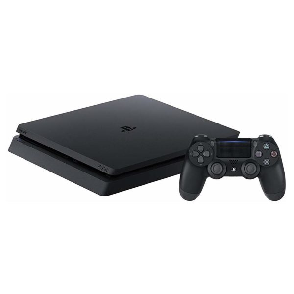 Sony PS4 Slim Gaming Console 500 GB Black + Ratchet & Clank + Spider Man + Uncharted Collection