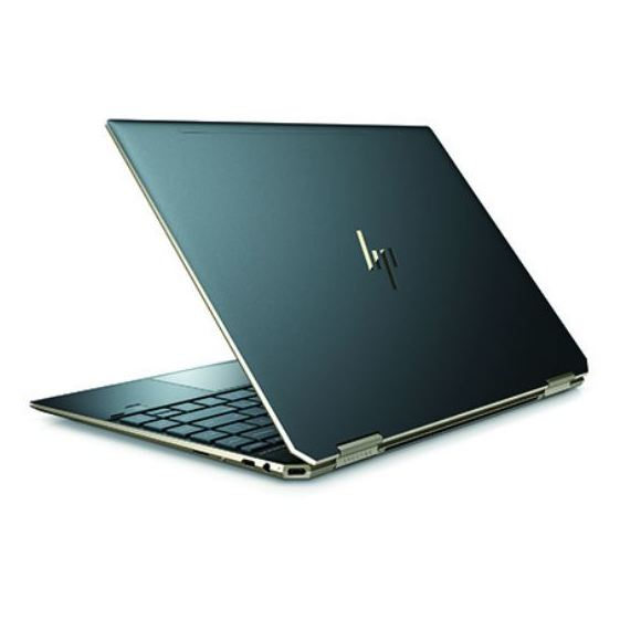HP Spectre x360 13-AP0012NE Convertible Touch Laptop - Core i7 1.8GHz 16GB 512GB Shared Win10 13.3inch FHD Poseidon Blue English/Arabic Keyboard