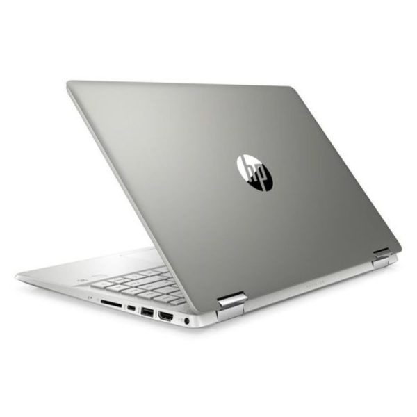 HP Pavilion x360 14-DH1028NE Convertible Touch Laptop - Core i7 1.8GHz 8GB 512GB 2GB Win10 14inch Mineral Silver English/Arabic Keyboard