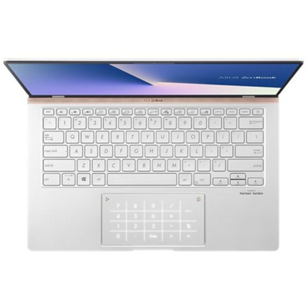 Asus UM433DA-A5003T Laptop - AMD Ryzen 5 3500U Processor 256GB SSD Win10 14 Inch FHD Silver English Keyboard