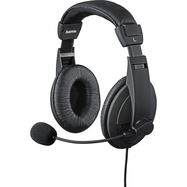 Hama 54486 Wired Insomnia Gaming Headset Black