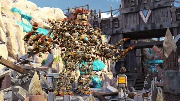 PS4 Knack Game