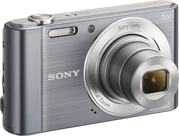 Sony Cybershot DSCW810 Digital Camera Silver