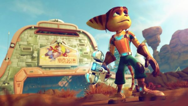 PS4 Ratchet & Clank Game