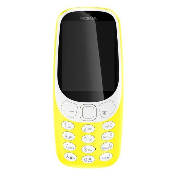 Nokia 3310 ( 2017 ) Dual Sim Mobile Phone Yellow