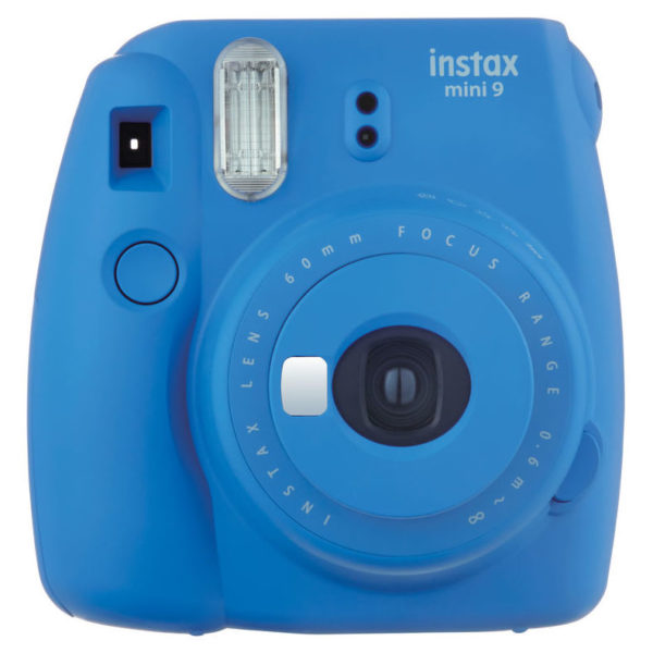 Fujifilm Instax Mini 9 Instant Film Camera Cobalt Blue + 10 Sheets