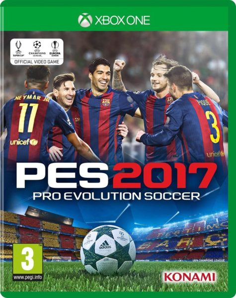 Xbox One PES 2017 Game