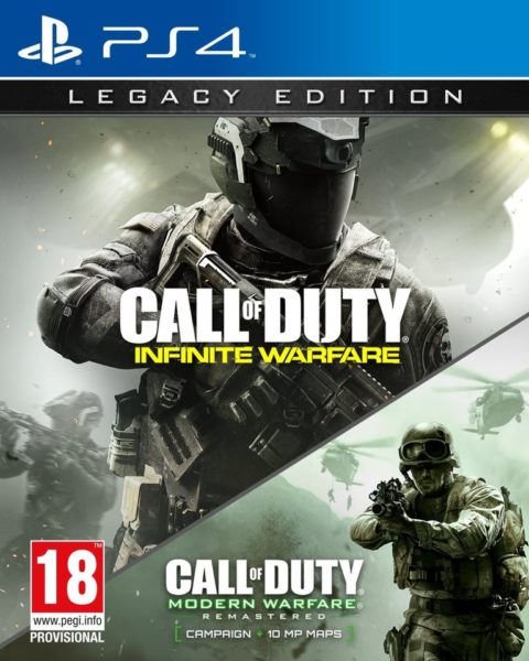 PS4 Call Of Duty Infinity Warfare Legacy Edition Game
