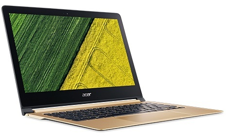Acer Swift 7 SF713 Laptop - Core i5 1.2GHz 8GB 256GB Shared Win10 13.3inch FHD Gold
