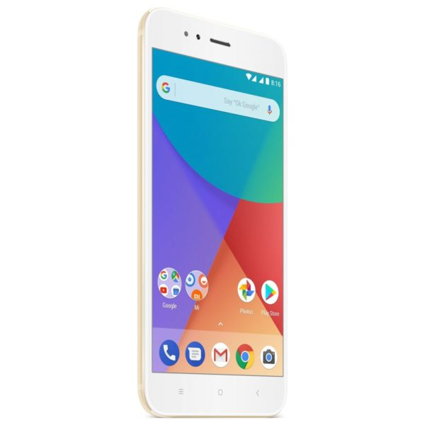 Xiaomi MI A1 4G Dual Sim Smartphone 64GB Gold price in Oman | Sale