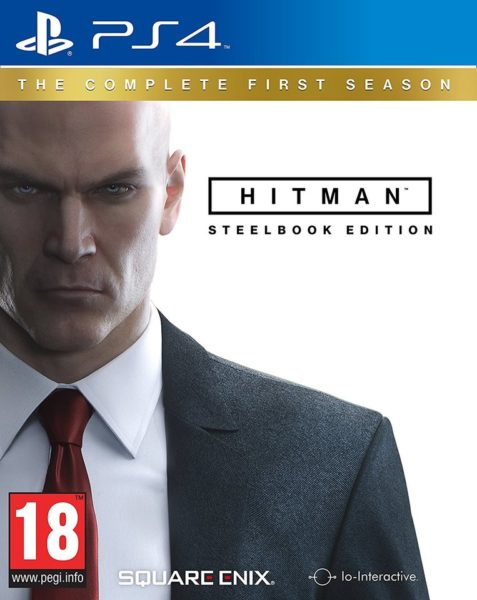 PS4 Hitman The Complete First Season Steelbook Edition Game