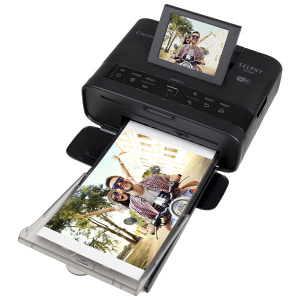 Canon CP1300 Selphy Wireless Compact Photo Printer Black