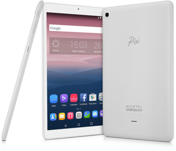 Alcatel Onetouch Pixi 3 9010X2BALAE1A Tablet – Android WiFi+3G 8GB 1GB  10inch White
