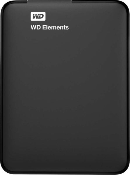 Western Digital WDBUZG0010BBK Element Portable Hard Drive 1TB Black